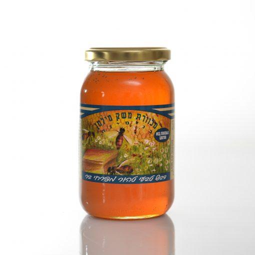 צנצנת דבש 500 גרם סטנדרט