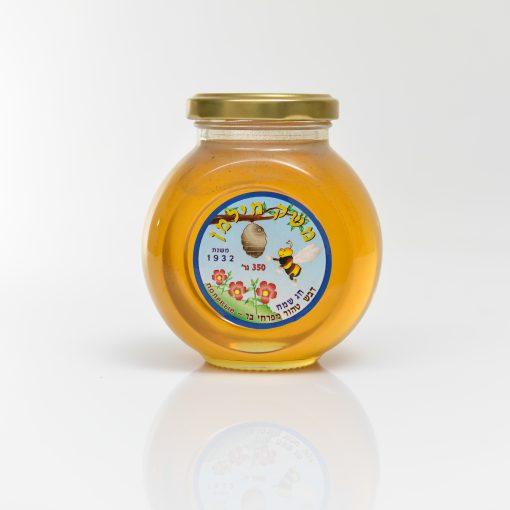 צנצנת דבש 350 גרם באסו