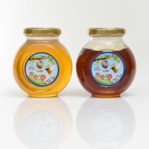 צנצנת דבש באסו 350 גרם