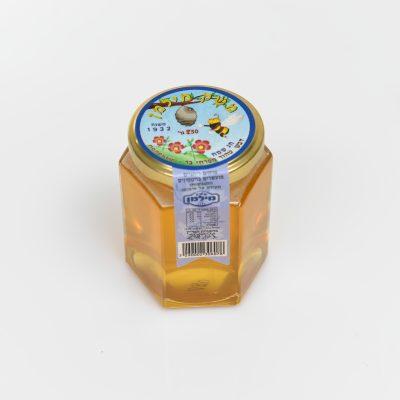צנצנת דבש משושה 250 גרם