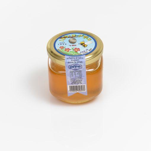 צנצנת דבש 200 גרם מרובע