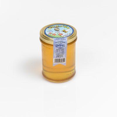 צנצנת דבש 300 גרם עגול