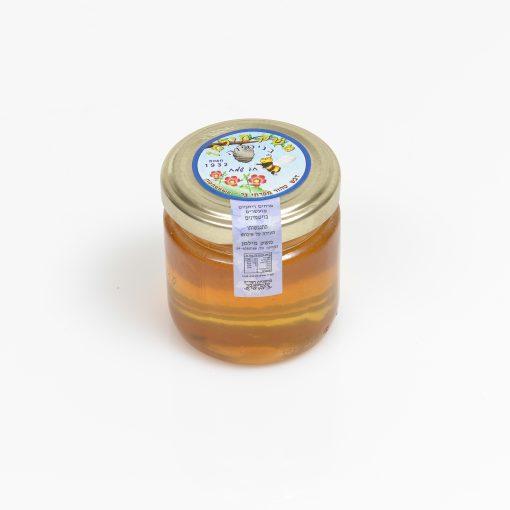 צנצנת דבש 200 גרם עגול