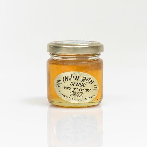 צנצנת דבש 100 גרם עגול